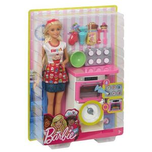 "Barbie ""Cooking & Baking"" Bäckerin Puppe & Spielset"