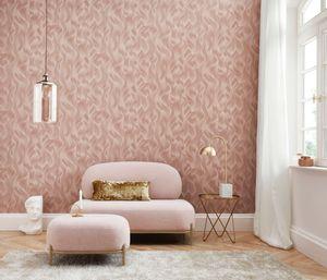 Erismann 10151-05 Elle Decoration Wandtapete Streifen/Wellen rosa Tapete Deko