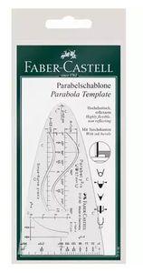 Faber-Castell 172182, Transparent, Kunststoff, 70 mm, 124 mm, 1,5 mm