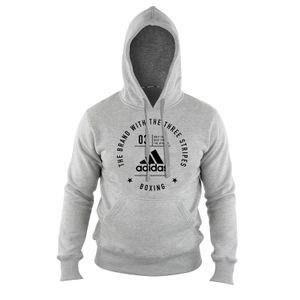 adidas Community Hoody Boxing Grey/Black S, adiCL02B-80900-S