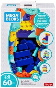 Mega Bloks First Builders - trendige Blöcke 60-teilig