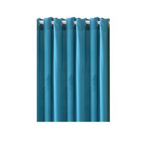 Vorhang mit Ösen 140x240cm Ozeanblau