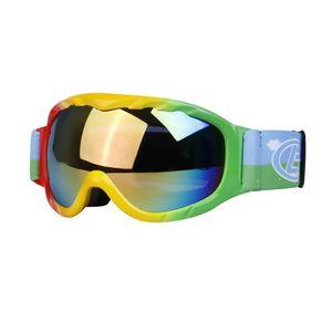 Kinder Ski Goggles Snowboard Snowmobile Motorrad Brillen Brillen Grün wie beschrieben