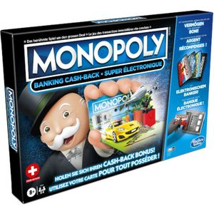 Hasbro Monopoly Super Electronic Banking, Lernspiel, Erwachsene & Kinder, 8 Jahr(e)