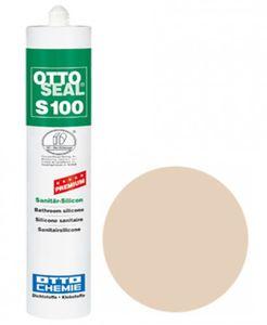 OTTOSEAL® S100 Premium-Sanitär-Silikon/Silicon 300 ml - Strandbeige C1106