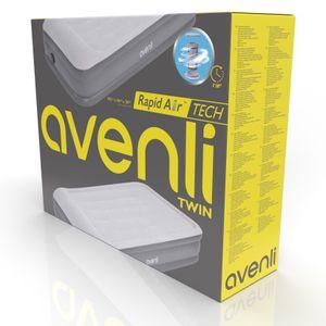 Avenli selbstaufblasendes Single Luftbett 195 x 94 x 38 cm mit integrierter Pumpe