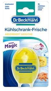 Dr. Beckmann Kühlschrank Frische - Kühlschrank Deo neutralisiert Gerüche mit Limonen-Extrakt &Alkohol 1x 40 g