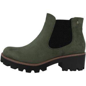 Rieker 99284 Damen Stiefel Stiefeletten Ankle Boots , Größe:39 EU, Farbe:Grün