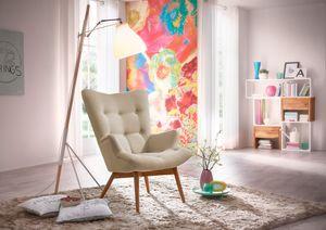 Max Winzer Aiko Hochlehnsessel - Farbe: sand - Maße: 74 cm x 81 cm x 98 cm; 25071-1100-1645226-F01