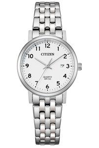 Citizen EU6090-54A Uhr Damenuhr Edelstahl Datum silber