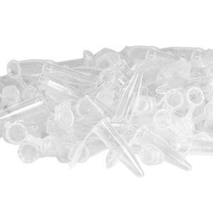100 Stück Reagenzgläser klar 0,5 ml