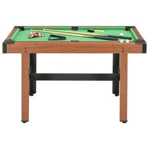 4ft Billardtisch Billard Billiardtisch mit Billiardqueue Billardkugeln 4 Fuß Pool Billard Billardtisch Tischbillard