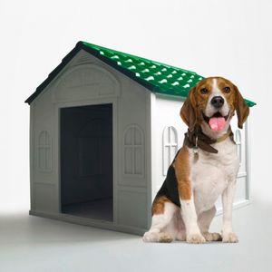 Zwinger Hundehütte mittelgroß Groß In Kunststoff Außen Innen Dolly