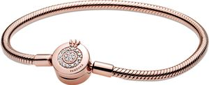 Pandora Signature Collection Armband 589046C01 Pandora Moments Sparkling Crown Rose  18