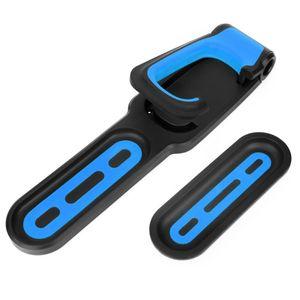 Fahrradträger Fahrrad Wandhaken Mountainbike Gepäckträger Wandhalterung Fahrradhalter für Fahrrad Aufbewahrung, Blau