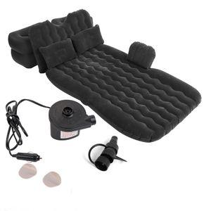 Aufblasbare Luftbett Matratze Bett Luftmatratze für Auto Rücksitz Outdoor Camping Matte NEU