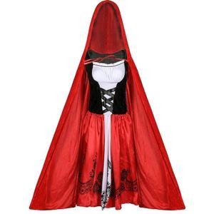 Red Outfit (A) XXXL $ cosplay erwachsene Halloween Rotkäppchen-Parteikleid Nachtclub Partei Königin