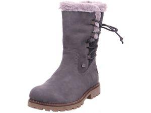 remonte Damen Stiefel Grau Schuhe, Größe:37