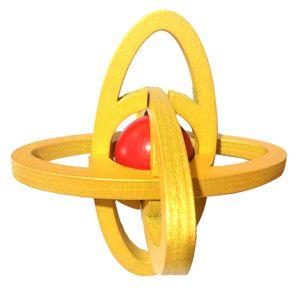 Kong Ming Sternschloss Holzpuzzle Kinder IQ Denkaufgabe Spielzeug