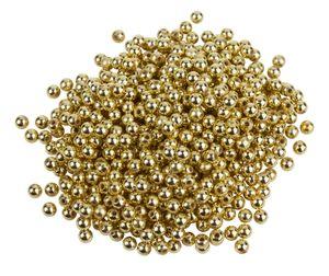 600 Wachsperlen, Ø 6mm, VBS Großhandelspackung Gold