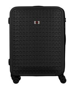 WENGER Matrix 4-Rollen-Trolley erweiterbarer Hartschalenkoffer Größe M 64 cm schwarz