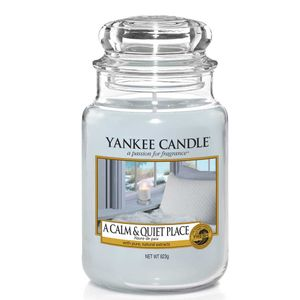 Yankee Candle A Calm & Quiet Place Große Kerzen im Glas