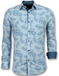 Casual Hemden Slim Fit - E Hemden Für - Blau - S