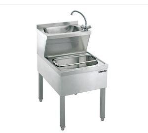 Handwasch-/Ausgussbeckenkombination