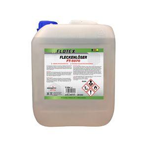 Flotex Fleckenlöser, 5L Fleckentferner Fleckenwasser Fleckenentferner Textilreiniger