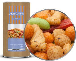 Rigato Mix - Japanische Reiscracker mit Sojasauce - Membrandose groß 350g