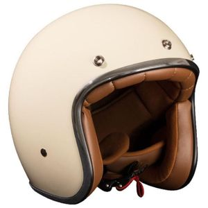STORMER Pearl Cream Jet Helm S = 55-56 cm