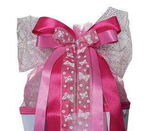 "ROTH LED-Schultütenschleife ""Pink Glamour"" rosa/weiß"