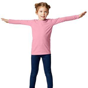 dressforfun Langarm-Shirt Kinder - rosa, 140 (10-12 Jahre)