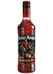 Captain Morgan Dark Rum Karibik | 40 % vol | 0,7 l