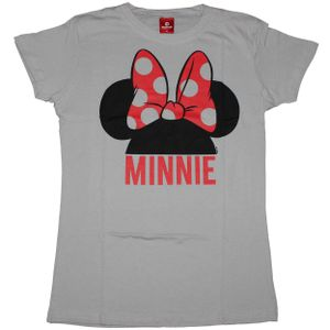 Ladys Shirt Mickey Mouse - Micky Maus - Minnie Mouse, Größe:L