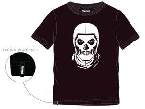 Fortnite T-Shirt SkullTrooper, Schwarz Größe 152