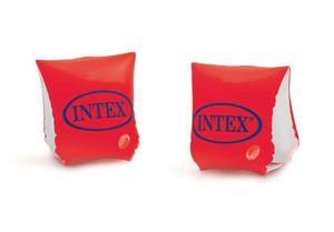 Intex Schwimmhilfe Deluxe Armbands Orange 18 t / m 30 kg