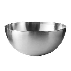 Prep Edelstahl Mischen Schüsseln für Haus, Kühlschrank, und Küche Wiederverwendbare Leicht zu Reinigen 24cm