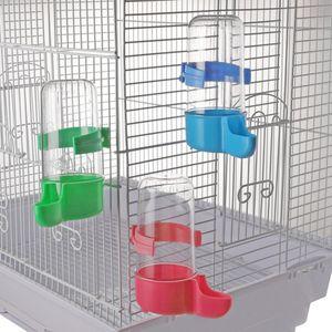 6 Stücke Futterspender Wasserspender Wasser Feeder für Vögel, Papageien, Wellensittiche, Sittiche, Nymphensittiche, Finken