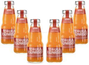 Cocktail Plant Tequila Sunrise (10,1% Vol) 6x 0,2l = 1,2l - inkl. Pfand MEHRWEG- [Enthält Sulfite]