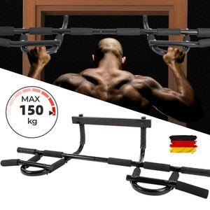 klimmzugstange Reckstange Pull Up Bar Türrahmen Türstange Bauch Rückentrainer DE