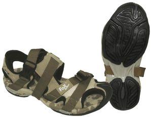 Trekking-Sandale, Clipverschluss, desert, Größe 41