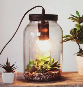 Lampe im Glas Country Style