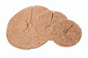 Kokos Mulchscheibe 30 cm Ø Kokosscheibe Winterschutz Pflanzenschutz Baumschutz
