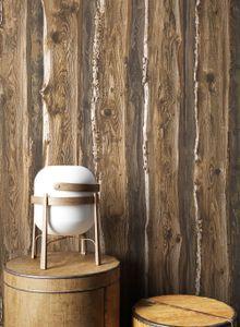 Holztapete Holzwand Beige Papier Landhaus Modern Landhaus Modern  Alte Bretter Holz  Wood Home