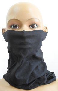 Multifunktionstuch Halstuch Schlauchschal Atmungsaktiv Gesichtschutz Mundschutz Gesichtmaske Schwarz M40