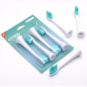 Zahnbürstenaufsätze für Phillips Sonicare Zahnbürsten NEU HX-6014-P