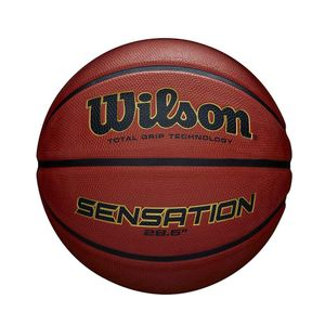 Wilson basketball Sensation Gummi orange Größe 7
