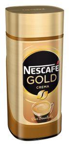 Nescafé Gold Crema | löslicher Kaffee | 200g-Glas