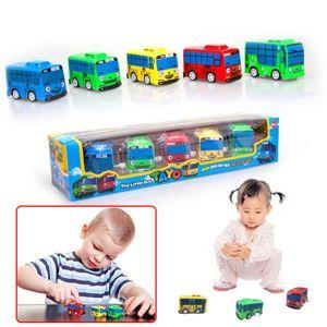 5pcs Mini Engineering Auto taxi schule bus krankenwagen bus polizei Spielzeug Kinder Spielzeug Kombiniert fahrzeug